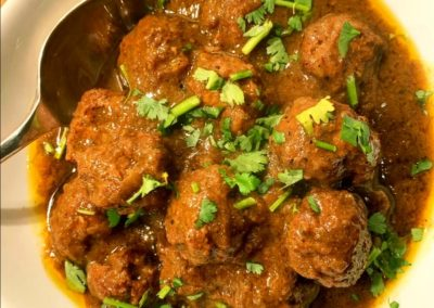Meatball Curry - x 90 people